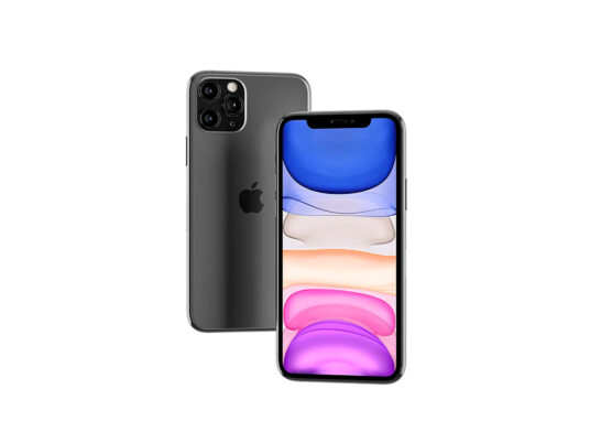 Floating iPhone 11 Pro Max (front & back) Mockup