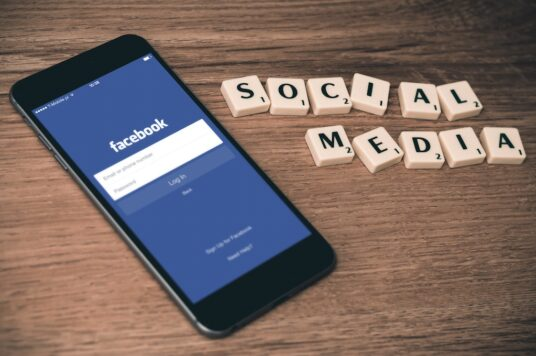 Social Media and iPhone Mockup