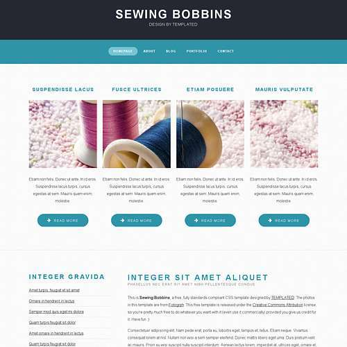 SewingBobbins html template