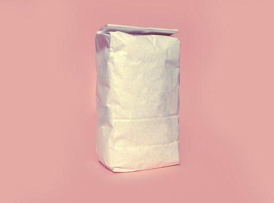 Flour Bag Mockup