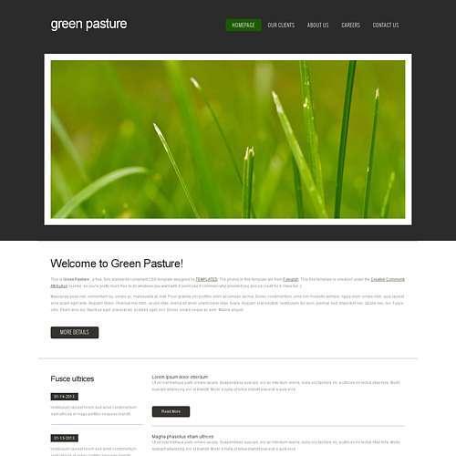 GreenPasture html template