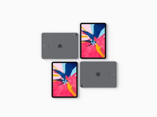 iPad Pro Showcase Mockup