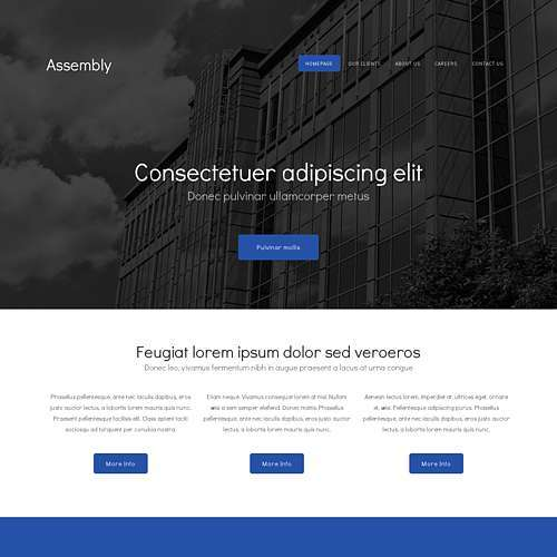 Assembly html template