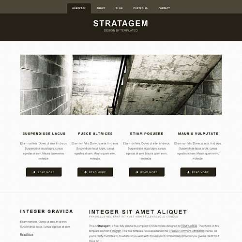 Stratagem html template